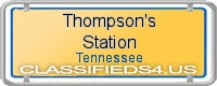 Thompson's Station board